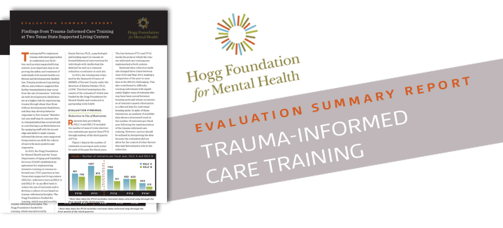 Findings from Trauma-Informed Care Training at Two Texas State Supported Living Centers