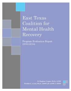 ETCMHR evaluation report front cover